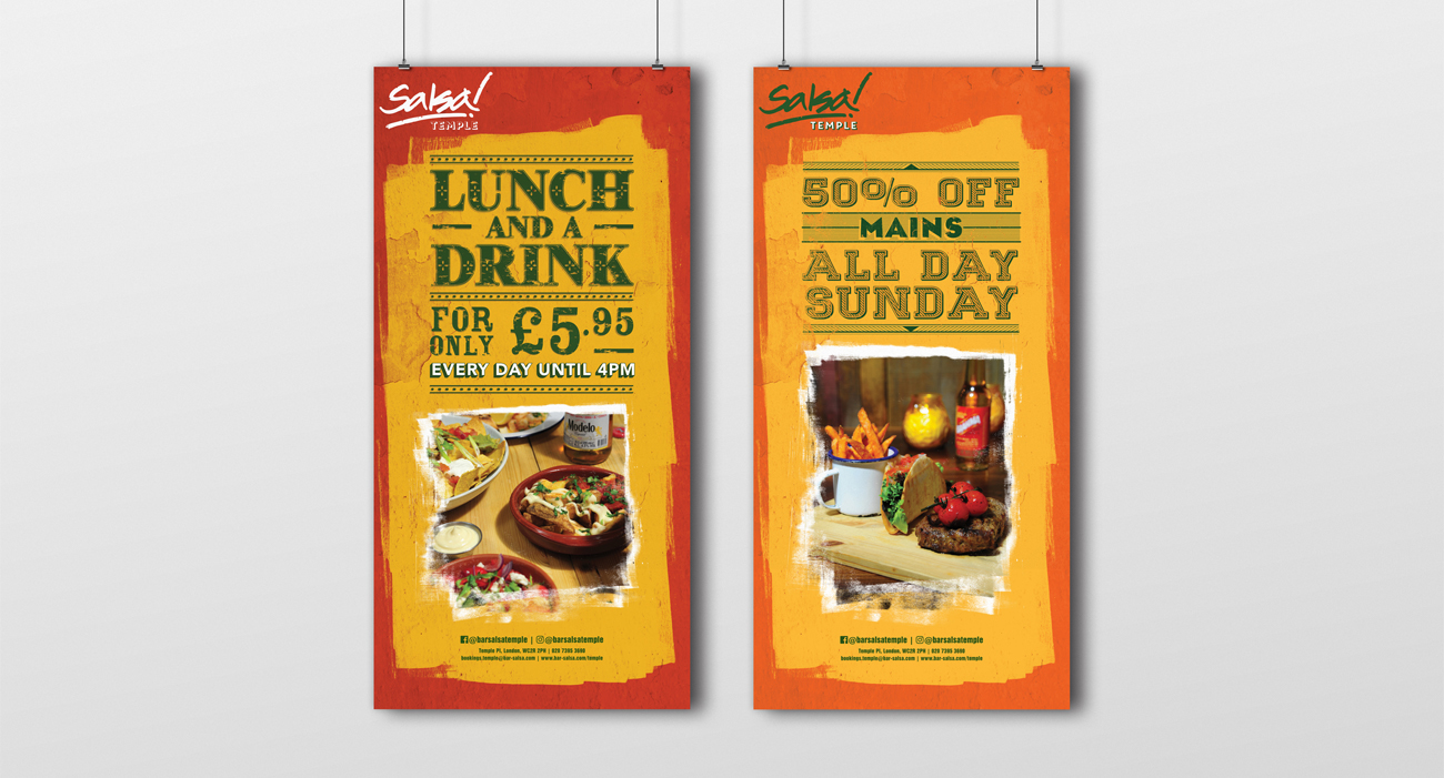Salsa Banners