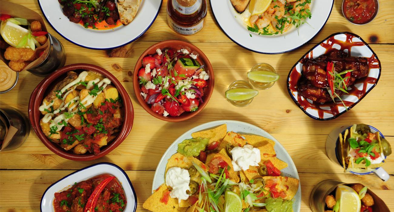 Salsa food photography