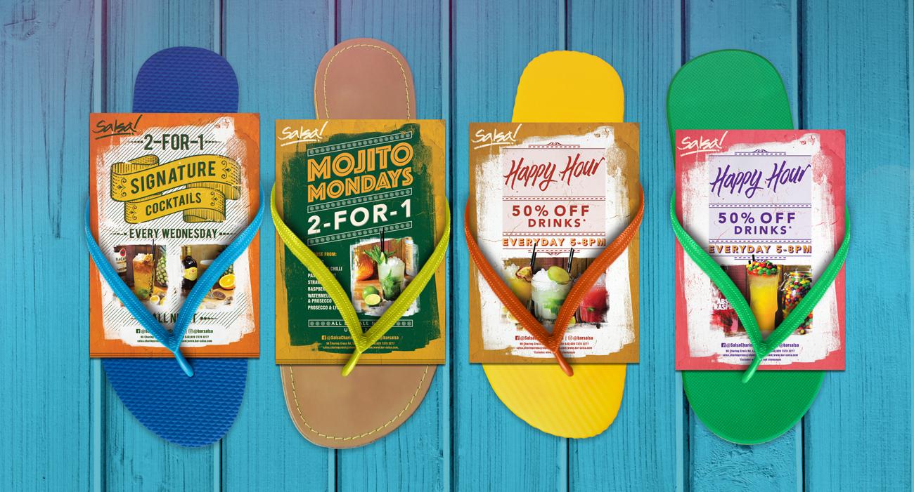 Salsa flyers