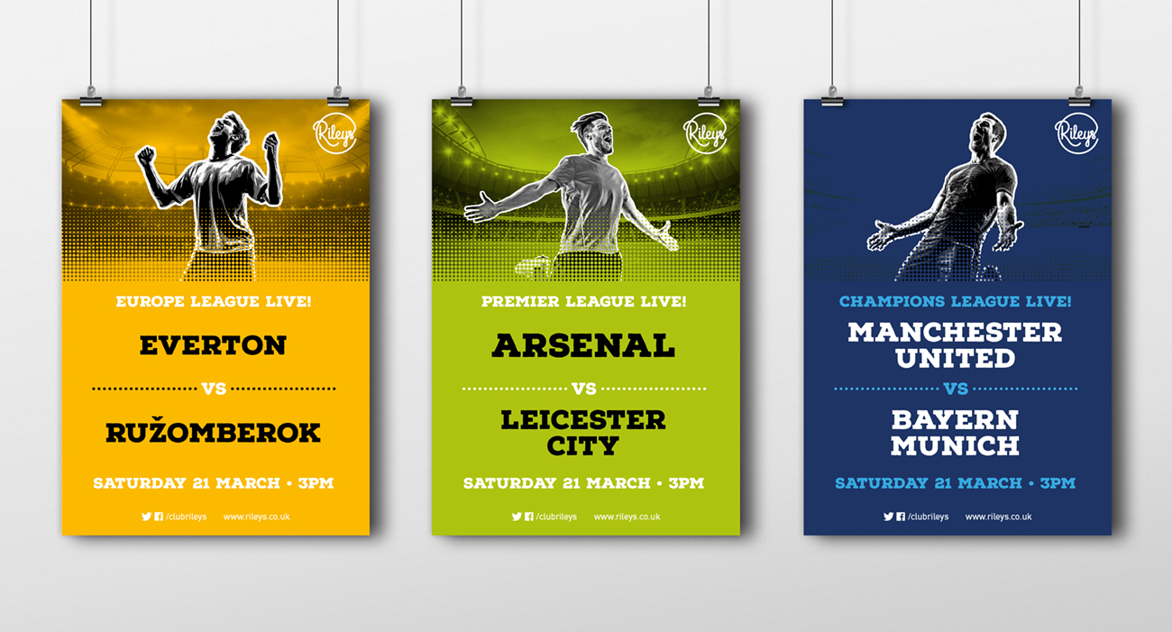 Rileys sports posters