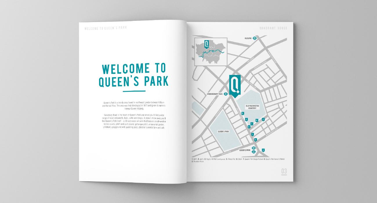 Quadrant map