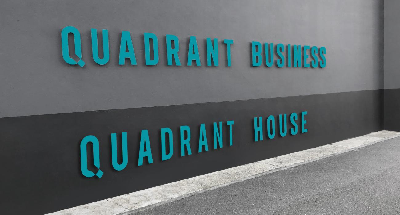 Quadrant signage