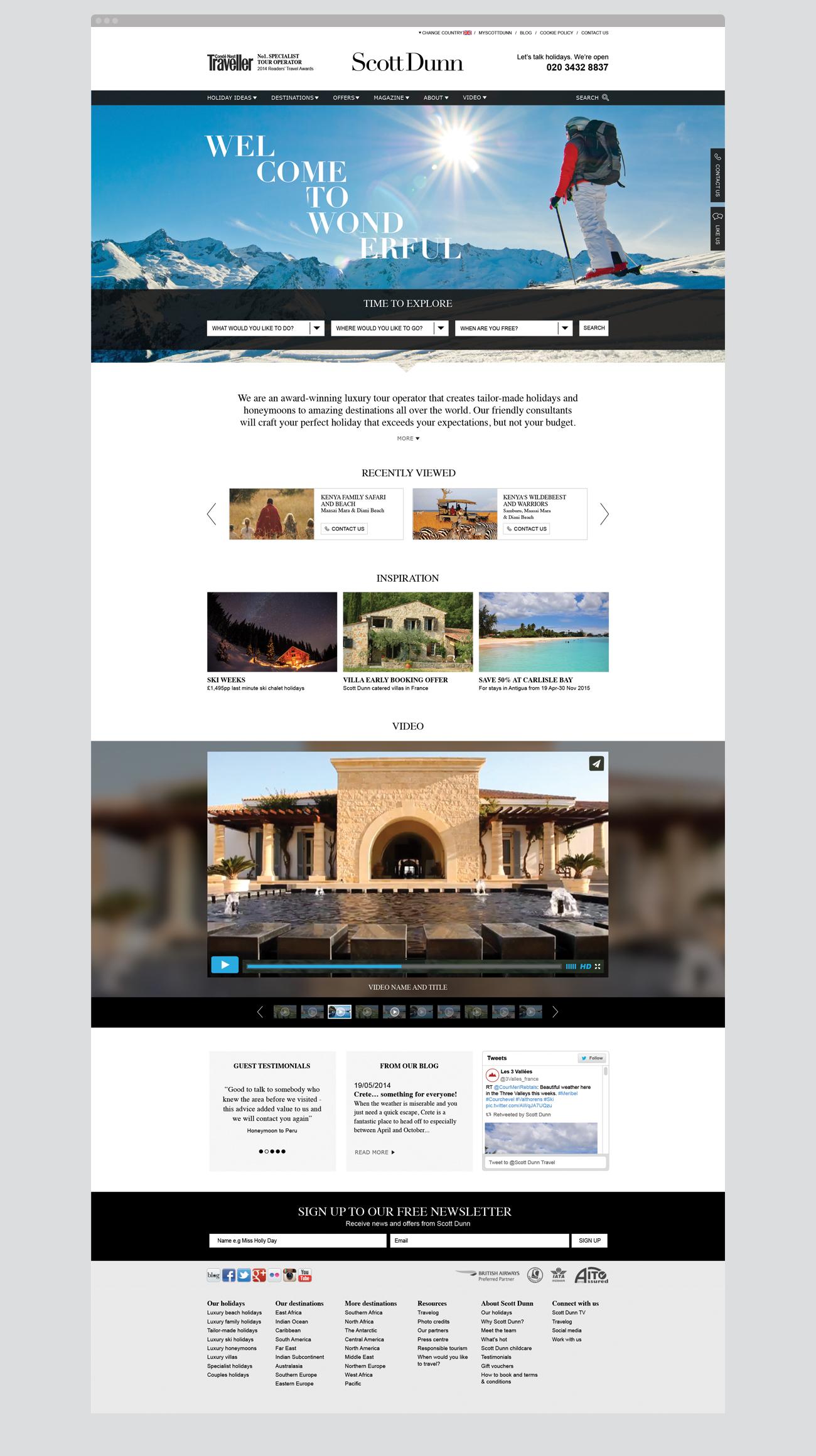 Scott Dunn Website Home