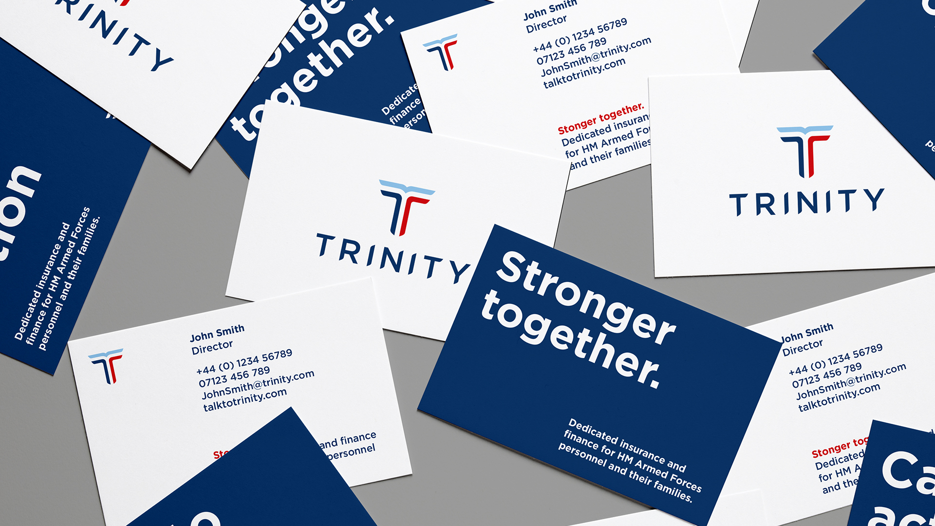 Trinity business cards