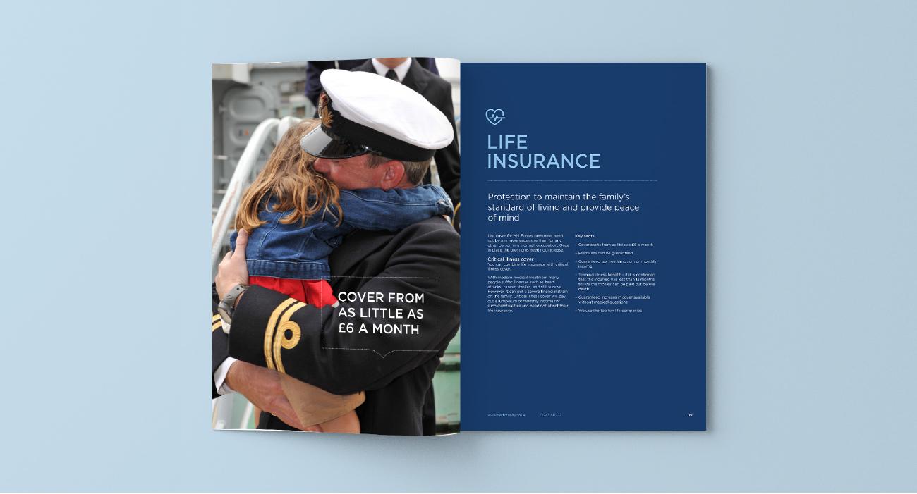 brochure spread
